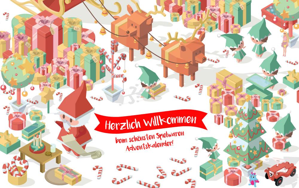 Mach mit beim Spielwaren-Adventskalender
