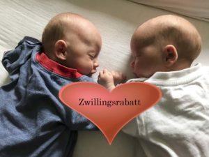 Zwillingsrabatt – Heute verrate ich dir welche Firmen dir einen Rabatt geben