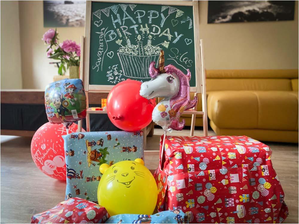 Der dritte Geburtstag – im engsten Familienkreis
