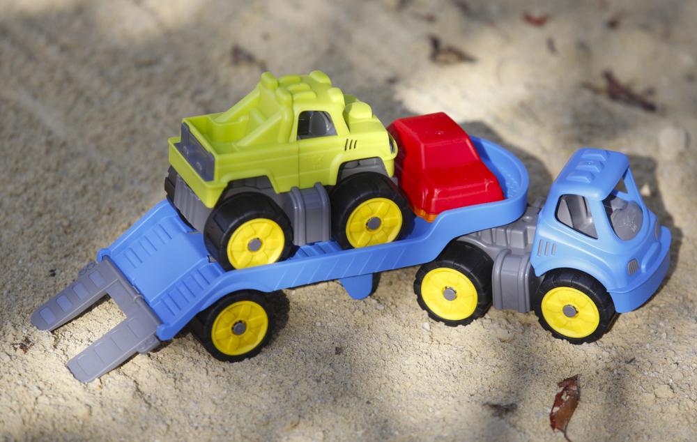 Werbung – Ein Mini Monster Truck Set für kleine Sandkastenrocker