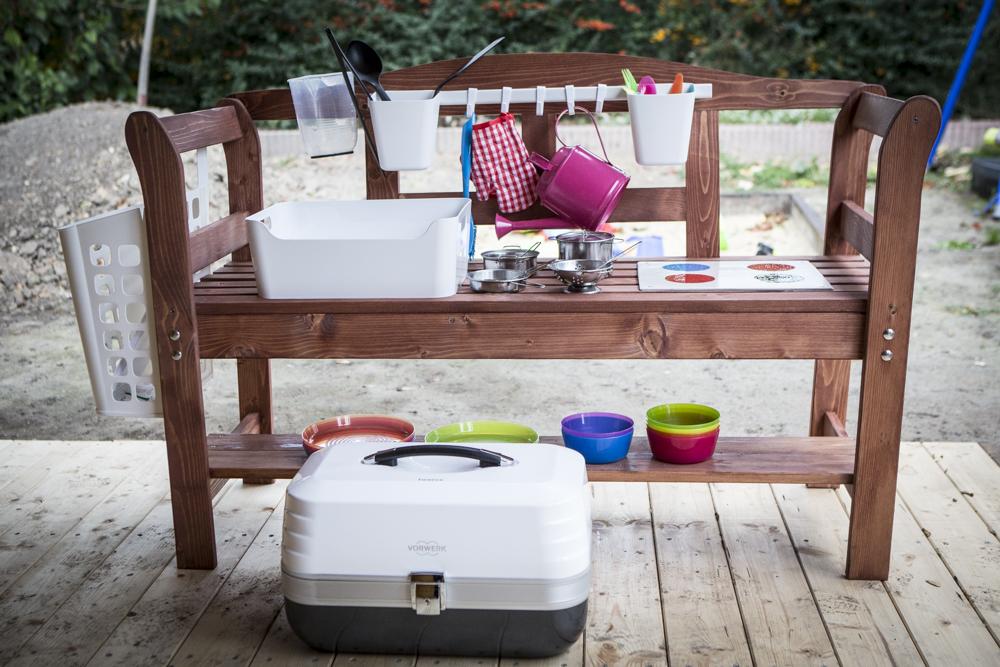 DIY Projekt Matschküche mit Twercs
