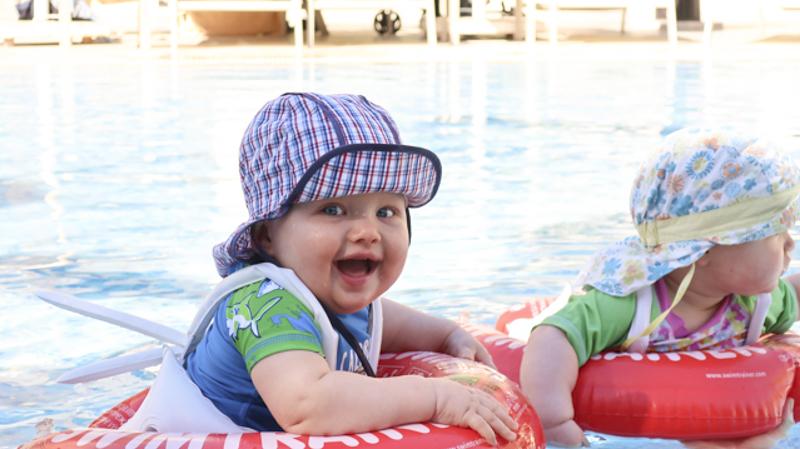 Freds Schwimmtrainer – Schwimmhilfe für Baby und Kleinkinder