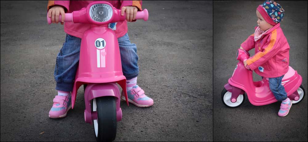 Werbung – Der BIG-Classic Scooter für Girls