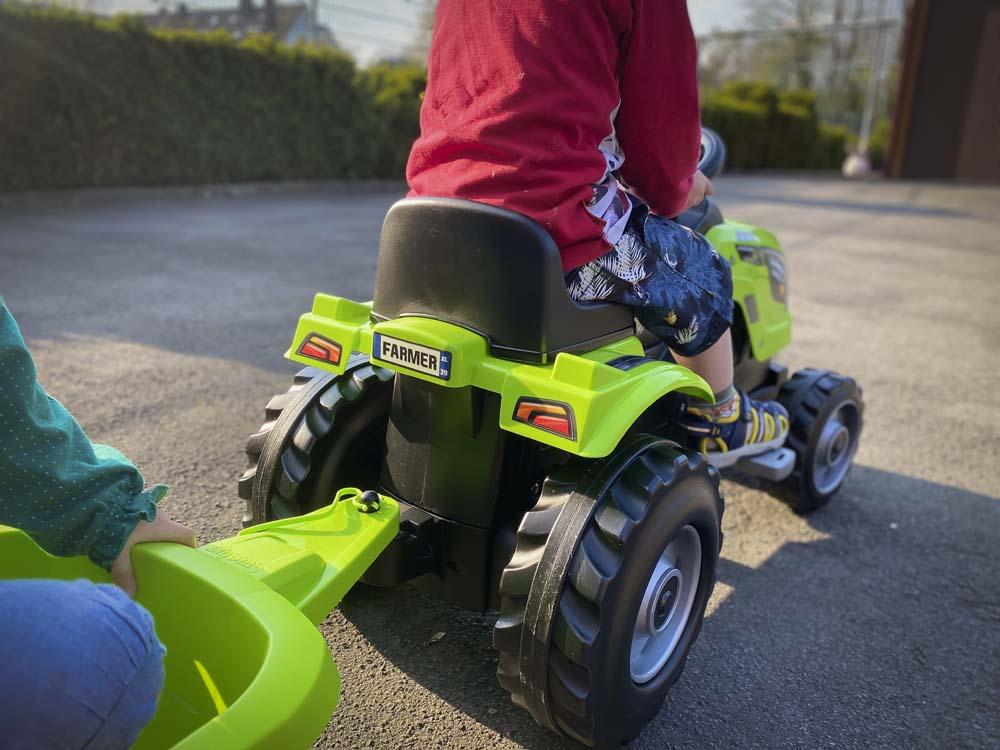 Ein Traktor für kleine Landwirte