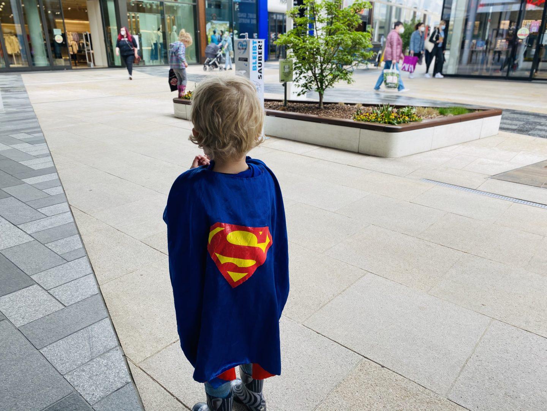 Mein Sohn der Superheld!
