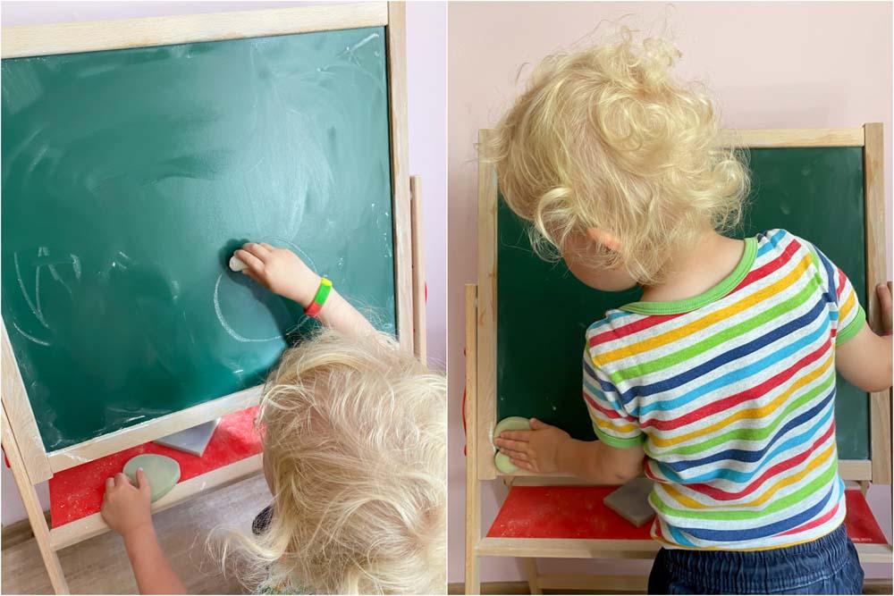 Spielzeugempfehlung – Die Eichhorn Magnettafel