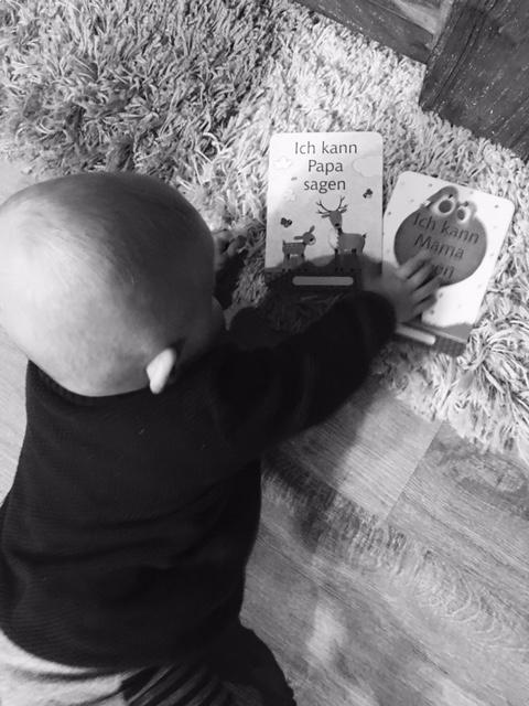 Silas sagt Mama und Papa – Ende 7 Monat