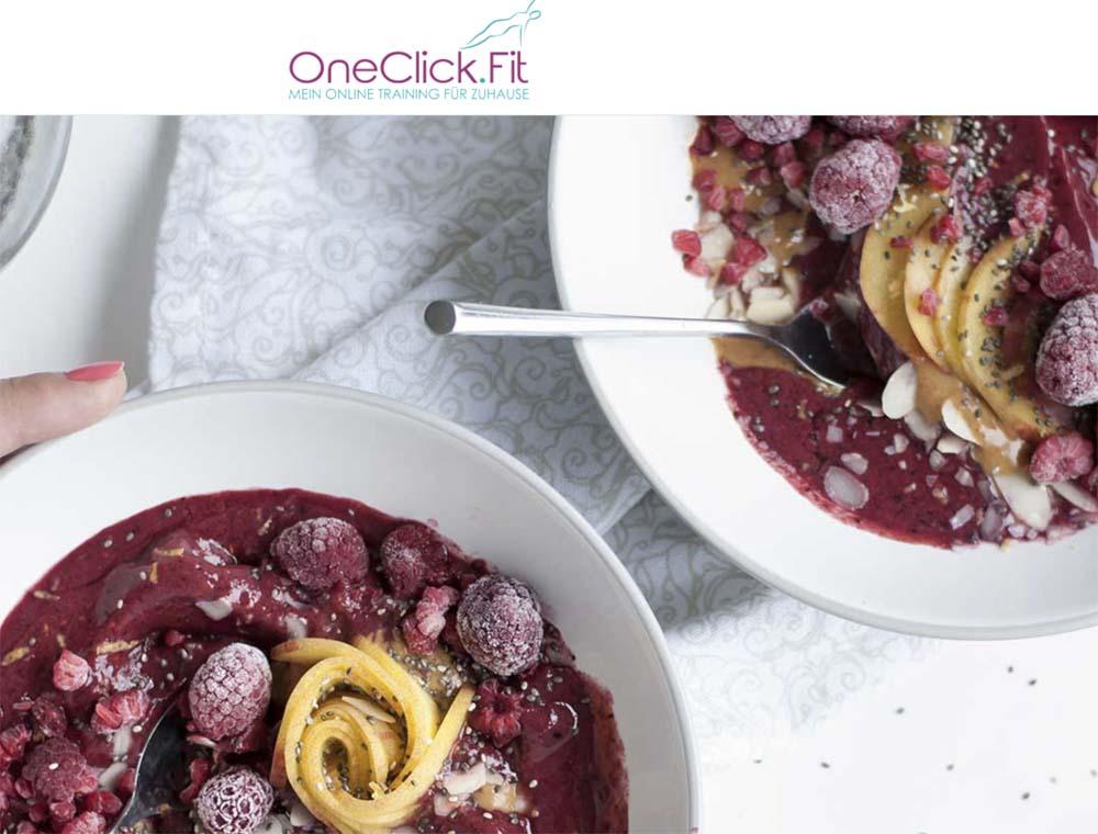 OneClickFit – Gewinnspiel & Werbung