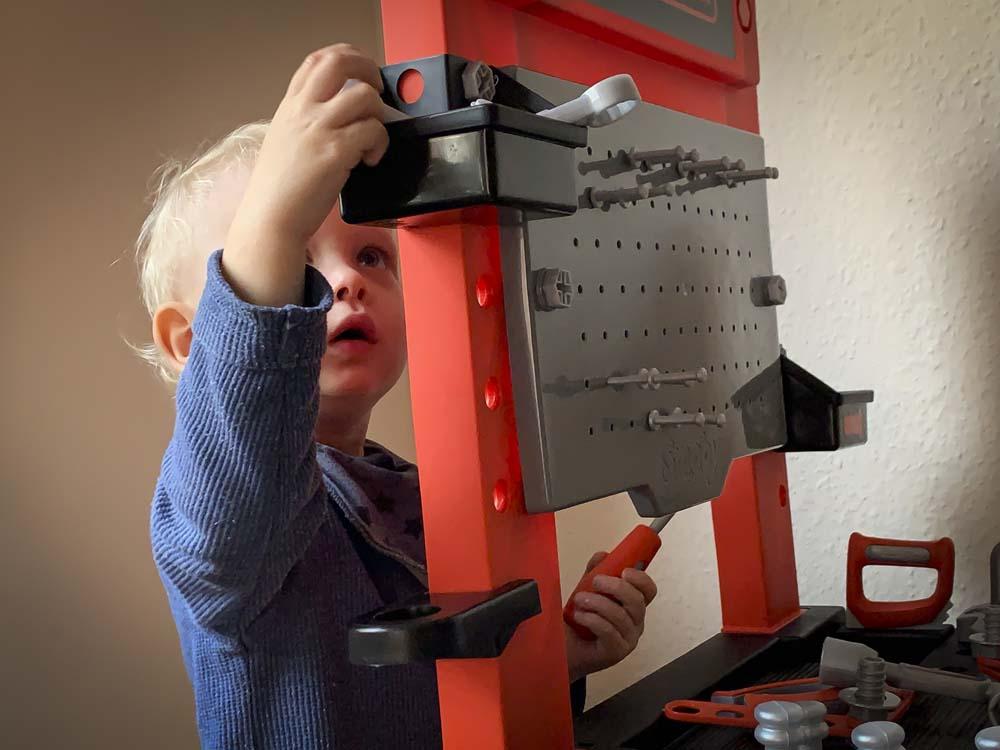 Kleine Handwerker aufgepasst – Hier kommt mein Spielzeug-Tipp